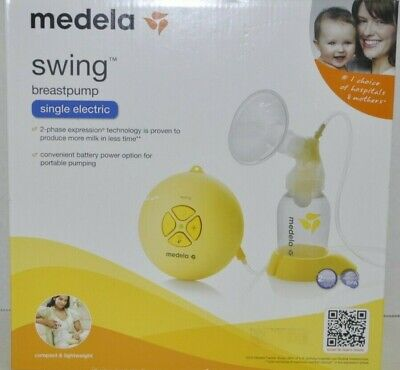 Medela Single Electric Breast Swing Pump NEW Sealed 67050/FOR FASTER PUMPING