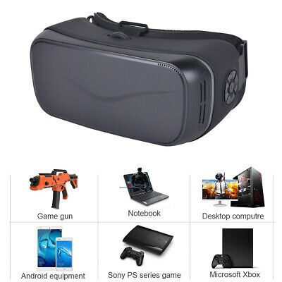 1440P Virtual Reality Movie Glasses VR Gaming Headset For PS4 PC Connect By HDMI