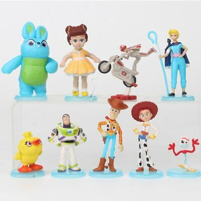 Toy Story 4 lot de 9 figurines Woody Forky Ducky & Bunny jouets enfant decor