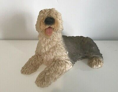 Old English Sheepdog dog figure Castagna model made in Italy 1988