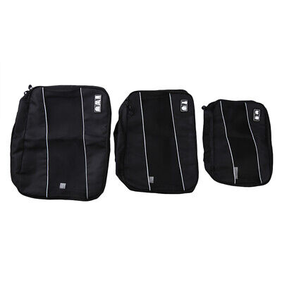 Travel Storage Bag Set For Clothes Luggage Packing Organizer Suitcase Bag FW