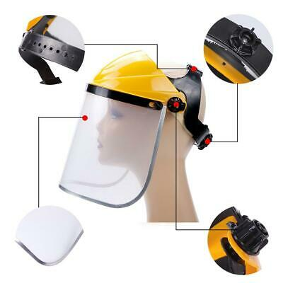 Industrial Full Face Shield Wide Visor High Temperature Resistant Anti-shock