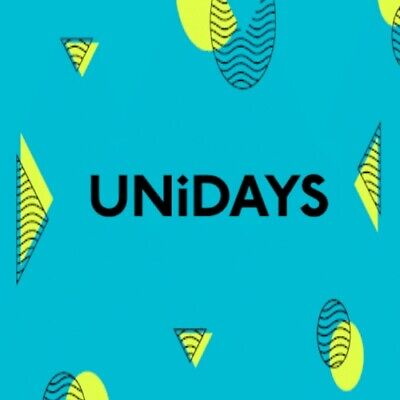 FULLY Verified Unidays Student account [UK] valid for 1 year