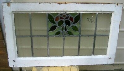 A742   Ca 1910s       Stained glass