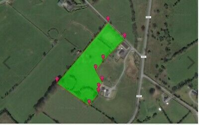 Land for sale Ireland 3.8 Acres / 5.00 Acres with Ringfort -SUBJECT TO PLANNING
