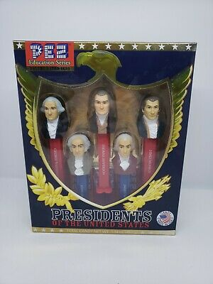 PEZ Educational Series Volume 1  1789-1825 Presidents Of The United States NIB