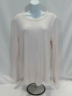 Women's Large Pale Pink Old Navy Long Sleeve Top