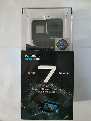 GoPro HERO7 Black 4K Video Camera - Black