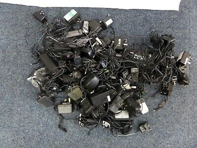 Job Lot Approx 60 Power Adapter Adaptors Supplies PSU Charger For Electricals