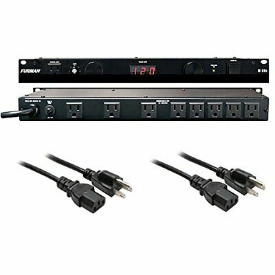 Furman M-8Dx Merit X Series 8 Outlet Power Conditioner w/ (2) Extension Cable