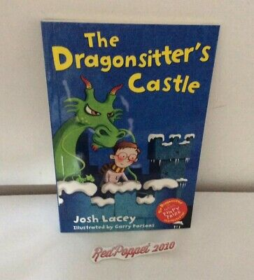 The Dragonsitter's Castle by Josh Lacey - Slim Paperback Book - New.