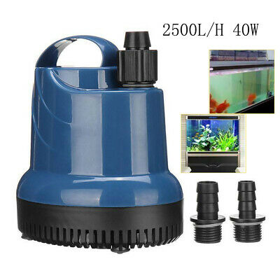Submersible Water Pump Fish Tank Aquarium Ponds Fountain Spout Feature Pump UK