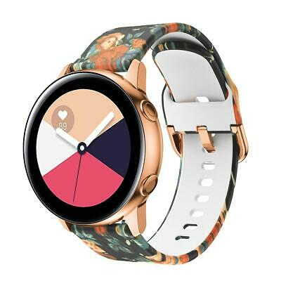 20mm Printed Wrist Band Strap Replacement Bracelet For Samsung Galaxy Watch