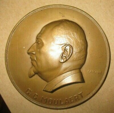 Medaille   General     Moulaert     A .  Darville