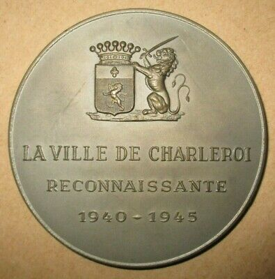 Medaille      Charleroi    A .  Darville    1940   1945