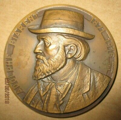Medaille    Adolphe    Biarent    Charleroi    A .  Darville