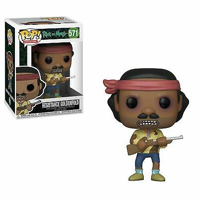 Funko Pop! Animation: Rick and Morty (S6)- Resistance Goldenfold Vinyl Figure