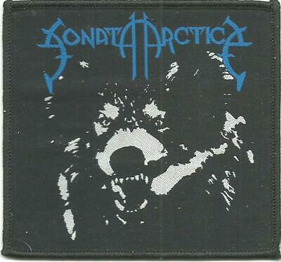 SONATA ARCTICA wolf RARE - WOVEN SEW ON PATCH official merch - no longer made