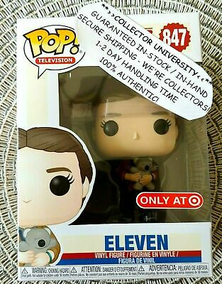 Funko Pop Stranger Things - ELEVEN WITH BEAR - 847 - Target EXCLUSIVE - PREORDER