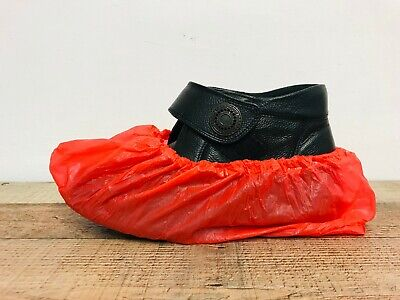 100 PAIRS Disposable Shoe Covers Overshoes Waterproof Carpet Boot Protectors