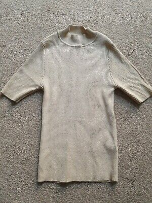 marks and spencer crop polo neck top size 10