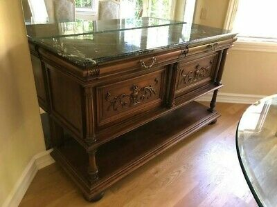 Antique French Country Louis XV Buffet Sideboard excellent condition
