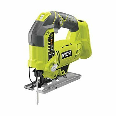 Ryobi R18JS-0 ONE+ Jigsaw with LED, 18 V (Body Only) - Green/Grey