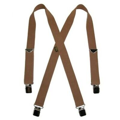 New Welch Men's Elastic Clip End Double Face Suspenders