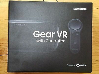 Samsung Gear VR (2017) With Controller Virtual Reality Headset SM-324NZAAXAR