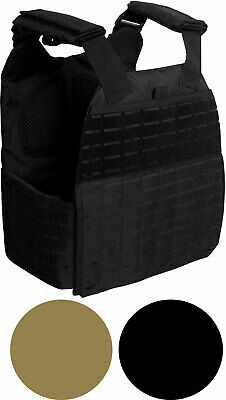 MOLLE Plate Carrier Vest Tactical Laser Cut Adjustable Combat Modular Military