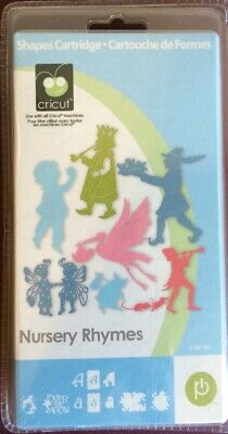 NEW Cricut NURSERY RHYMES Cartridge Shapes and Font RETIRED SEALED NOT LINKED!