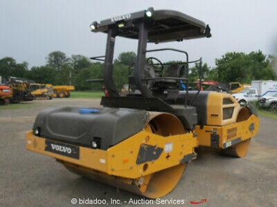 2015 Volvo DD120B Smooth Double Drum Vibratory Ride On Roller Compactor bidadoo