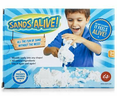 SANDS ALIVE - Kids Fun Reusable Mouldable Soft Sand Made of Natural Ingredients