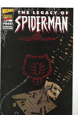 The Legacy of Spider-Man Special Edition #1 (1998, Marvel / Wizard) Fine )