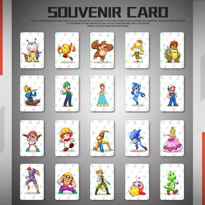 20PCS NFC Cards for NIntendo Switch for Mario Kart 8 Deluxe Special Gift