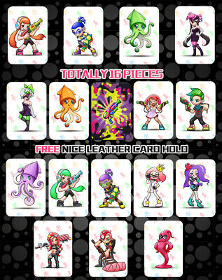 16PCS NFC Cards For Splatoon 2 for Nintendo Switch