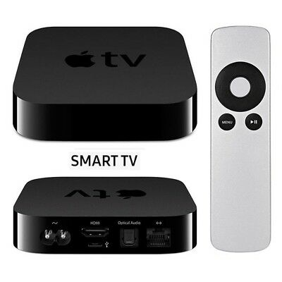 Apple TV 3rd Generation Wireless Streaming FHD 1080p HDMI Media Player AirPlay