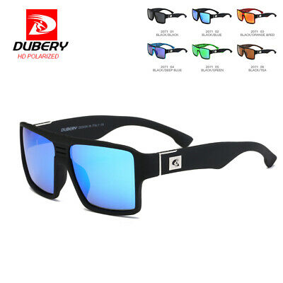 DUBERY Men Vintage Polarized Sunglasses Driving Sport Fishing Eyewear UV400 Cool