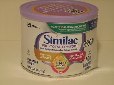 Similac Pro-Total Comfort Infant Baby Formula With Iron 7.6 oz Expires 10/1/2020