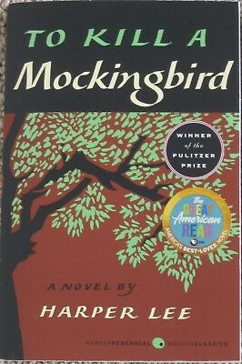 TO KILL A MOCKINGBIRD by Harper Lee (2005 Paperback) THE GREAT AMERICAN READ NEW
