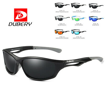 DUBERY Men Vintage Polarized Sunglasses Driving UV400 Eyewear Outdoor Shades Hot