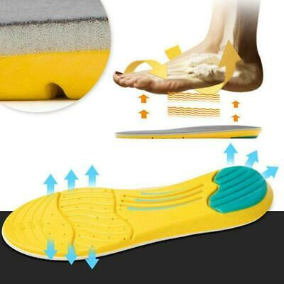 Memory Foam Sport Insoles Sweat Absorption Pads Running Breathable Shoe Inserts