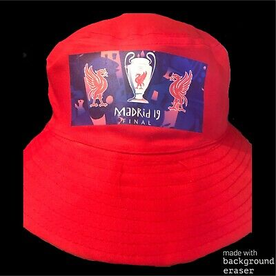 Champions League Final 2019 Liverpool FC Bucket Hat   Madrid   LFC