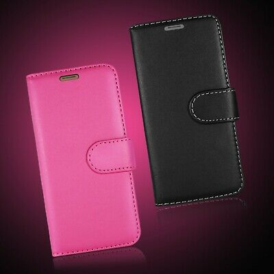 Leather Wallet Book Flip Phone Full Safe Case Cover Card Slots For Lg G4 & Many