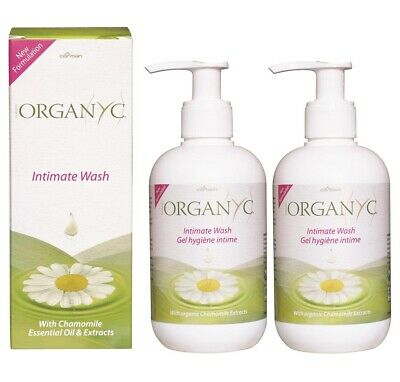 ORGANYC INTIMATE WASH WITH CAMOMILE OIL & EXTRACTS 250ml - (Pack of 2)