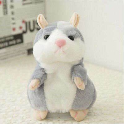 Electronic Pet Talking Record Hamster Plush Buddy Mouse Kids Toys