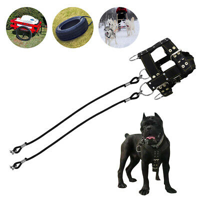 Professional Dog Weight Pulling Harness Padded Heavy Duty Training for Sport M/L