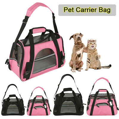 Large Pet Dog Cat Puppy Portable Travel Carry Carrier Tote Bag Crates Box Holder
