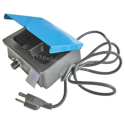 3-Well Digital Waxer Analog Wax Heater Pot Melting Dipping System for Dentist CE