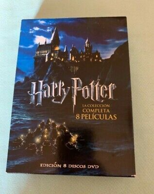 Harry Potter Pack Colección Completa (DVD, 2011)
